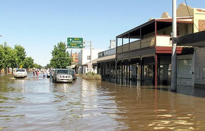 Flooding in Horsham
